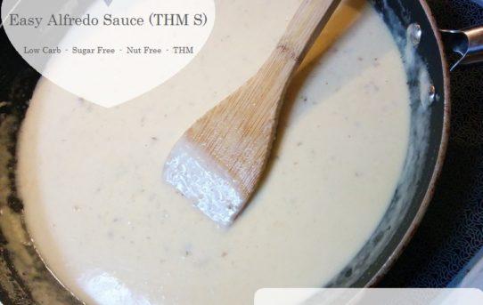 Easy Alfredo Sauce (THM S)