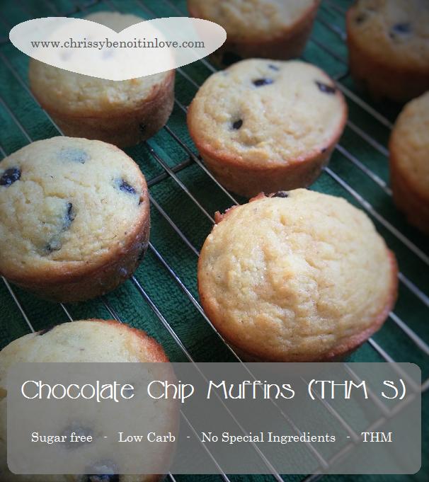 Chocolate Chip Muffins (THM S)
