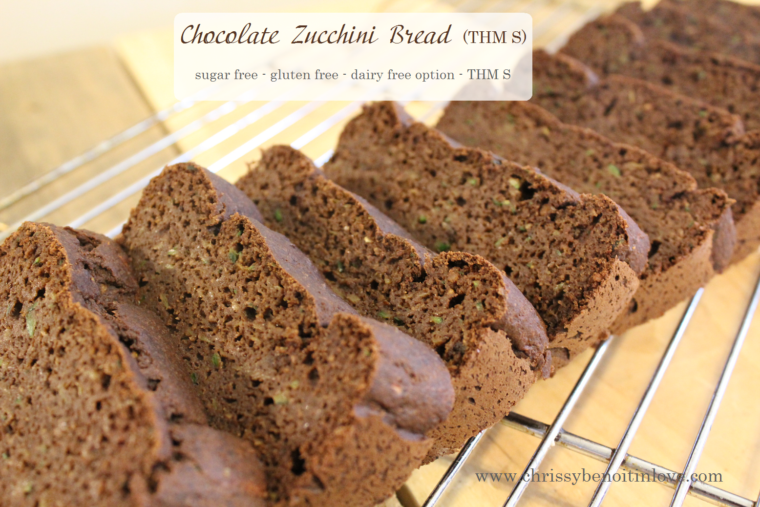chocolate zucchini bread 1