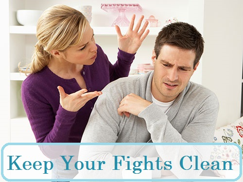 Keep your Fights Clean