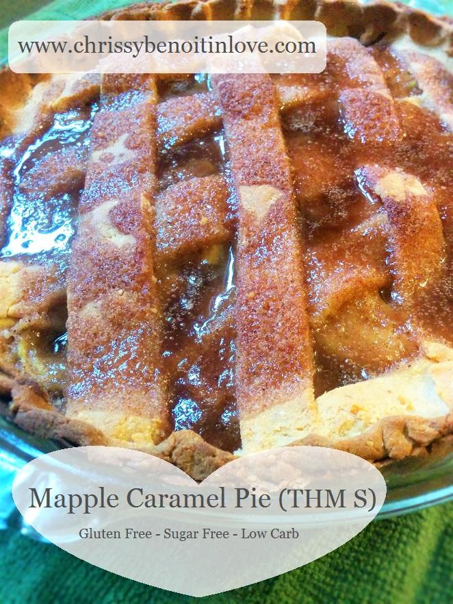 Mapple Caramel Pie (THM S)