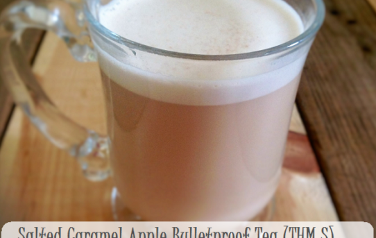 Salted Caramel Apple Bullet Proof Tea (THM S)