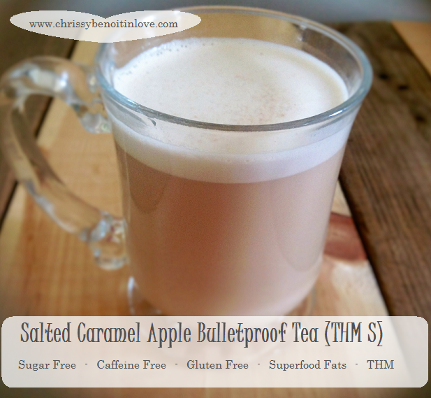 Salted Caramel Apple Bullet Proof Tea (THM S)