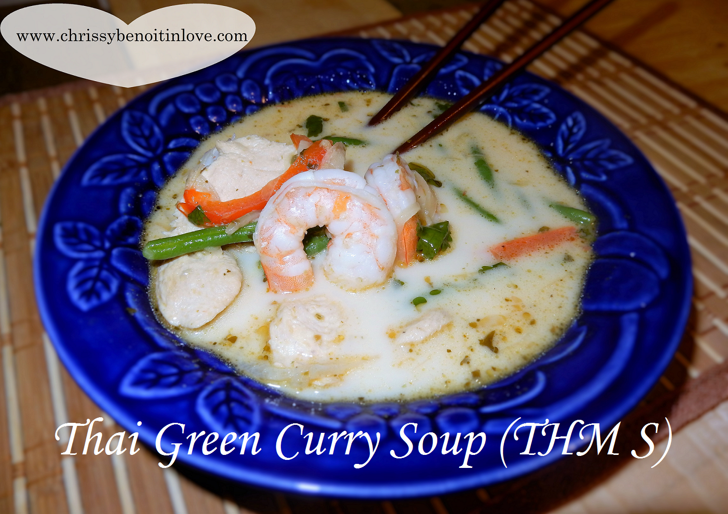 Thai Green Curry Soup (THM S)