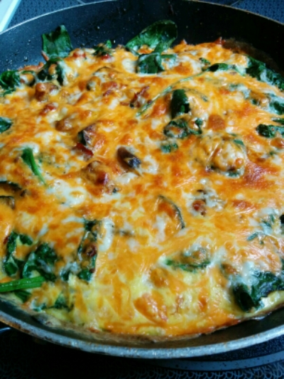 Rustic Farmers Omelet (THM S)
