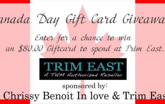 trim east giveaway logo splash