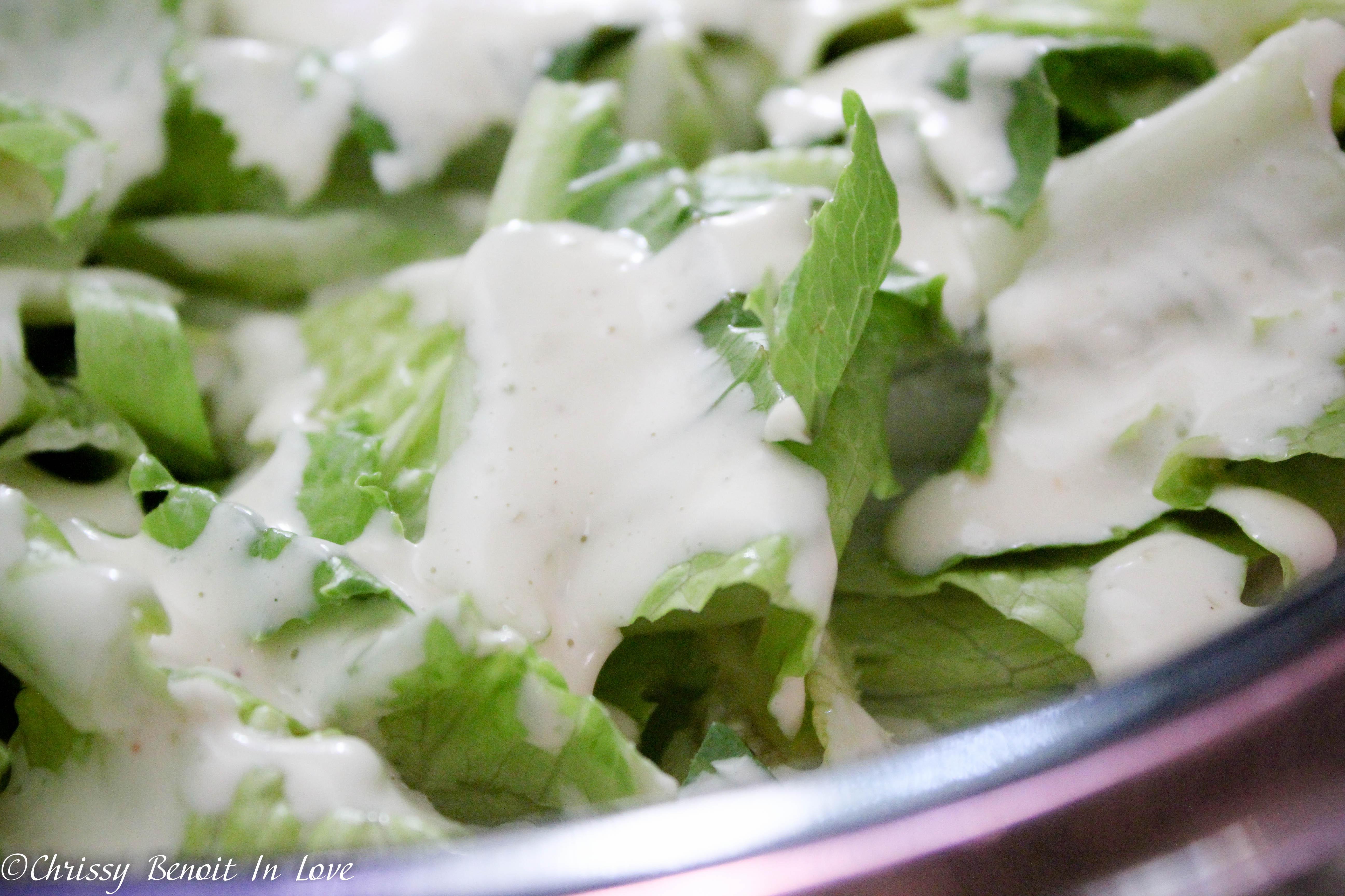 Chrissy's Caesar Salad Dressing/ Dip