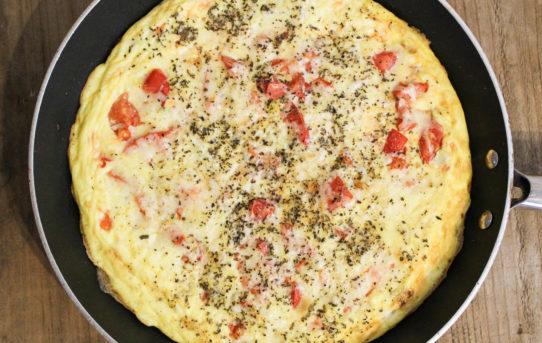Garden Fresh Tomato-Basil Omelet (THM S)