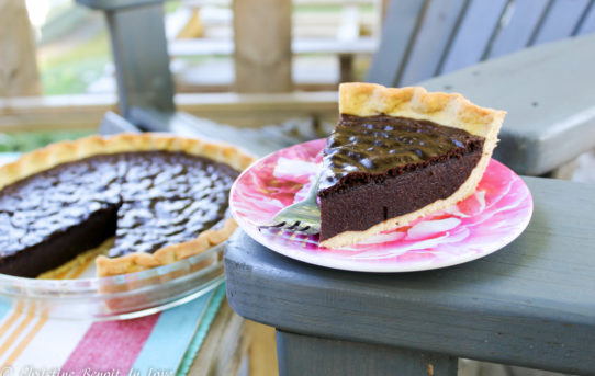 Chocolate Chess Pie (THM S)