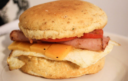 Chrissy's Breakfast Sandwich